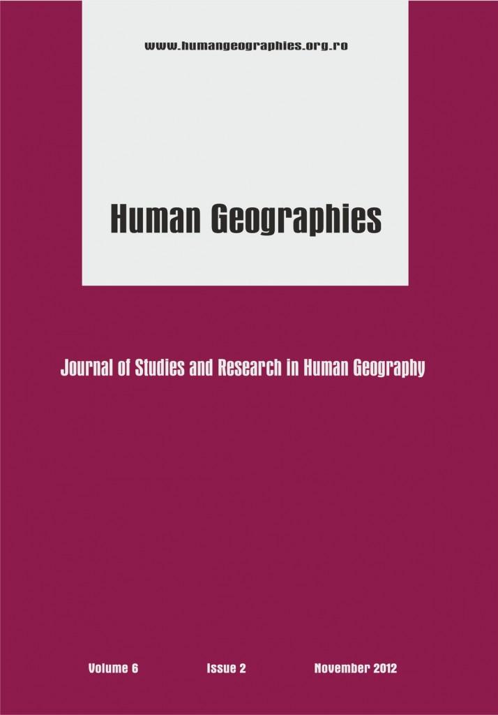 Coperta A4 Human Geographie vol 6 nov 2012-2